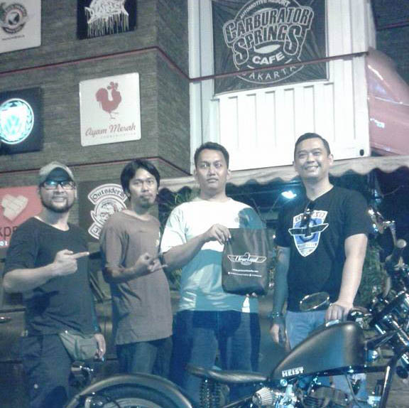 bikers station
