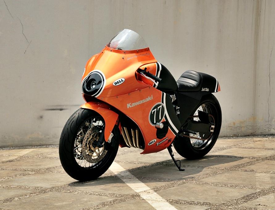 GPZ600 Cafe Racer - 13