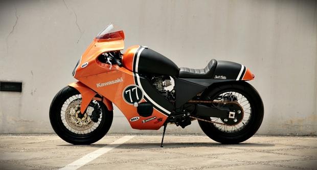 GPZ600 Cafe Racer - 14