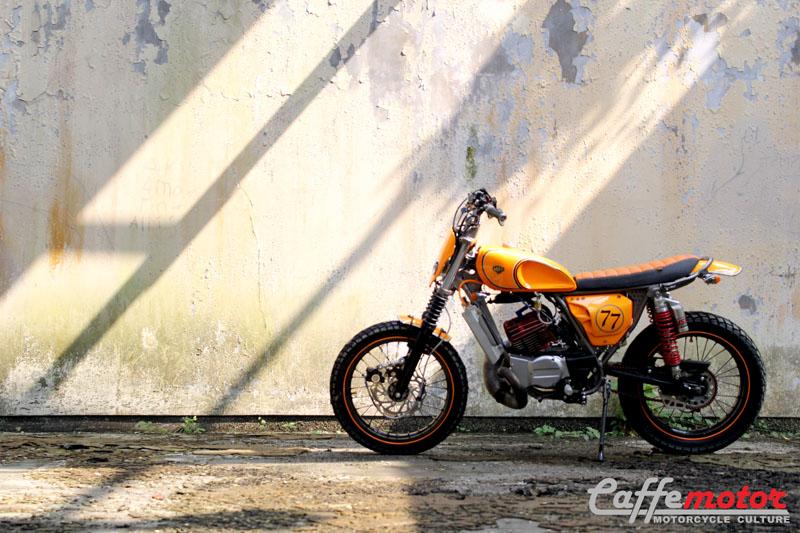 Yamaha RX King 1997 : Si Jambret Bergaya Flat Tracker | Caffe Motor ...